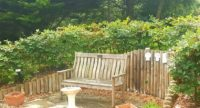 broadway lodge garden bench